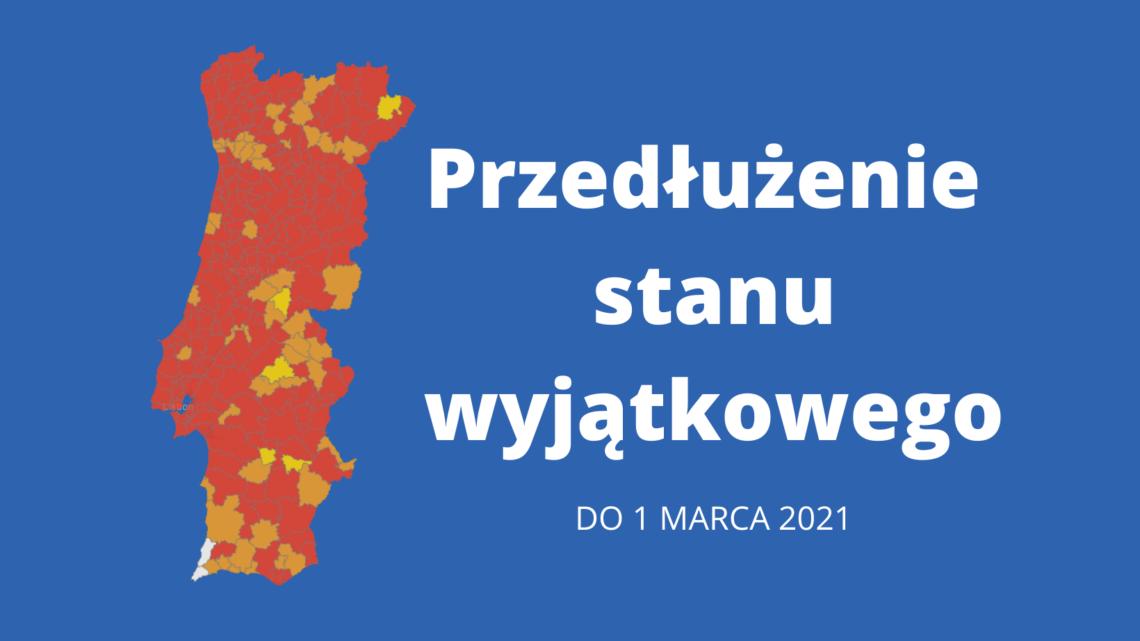 Przedłużenie stanu wyjątkowego do 1 marca