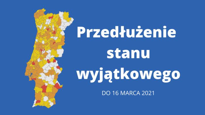 Przedłużenie stanu wyjątkowego do 16 marca